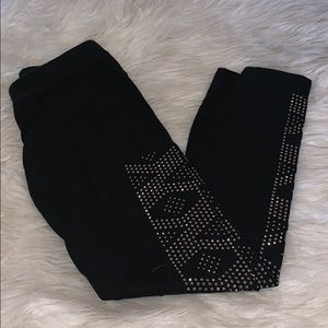 Express embellished leggings